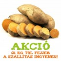 Édes krumpli (betakarítás után vegyszeres kezelés nélkül)